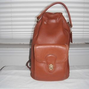 Vintage Coach Backpack